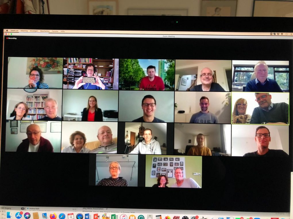 Virtual JWA Meeting 2020